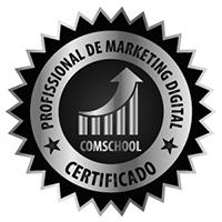 Selo Profissional de Marketing Digital - Comschool